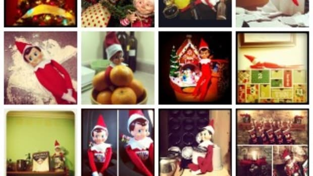 elf on the shelf instagram