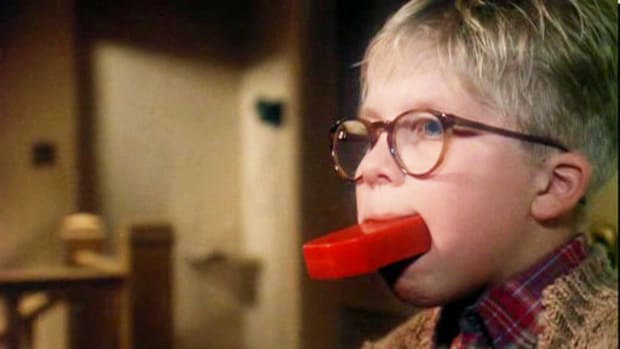 Everyone remembers when Ralphie's friend ratted him out for cussing in A Christmas Story.