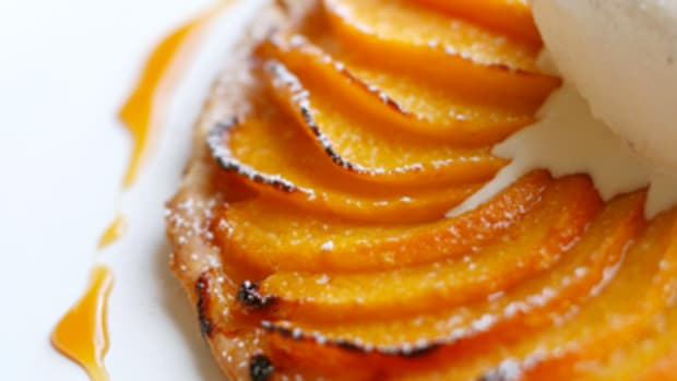 Peach Fruit Tart