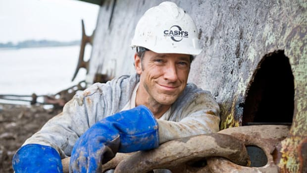 Mike Rowe from Discovery Channel's Dirty Jobs