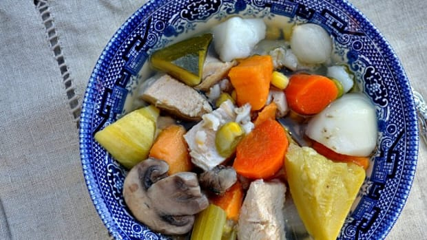 Hearty Vegetable Soup with Chicken - TodaysMama.com