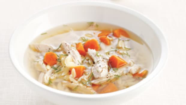 Turkey Dill and Orzo Soup