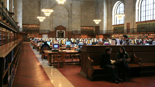 New York Public Library (Flickr: Vincent Desjardins)