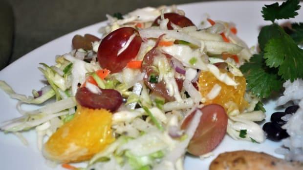 Citrus Coleslaw Salad