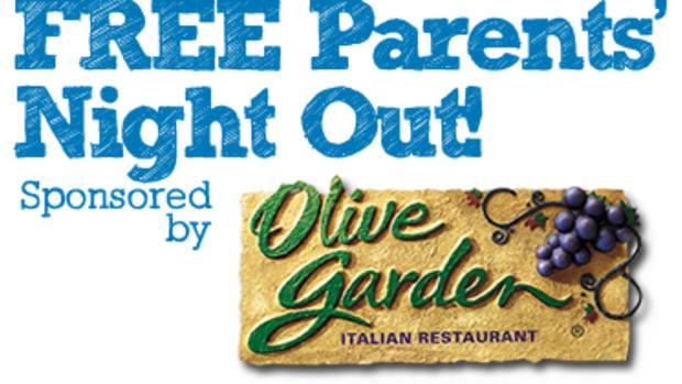 Olive Garden Free Parents Night Out Feb. 7, 2014 www.TodaysMama.com #OGParentsNightOut