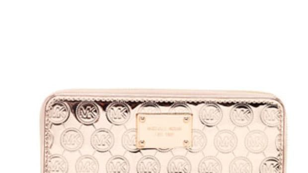michael kors rose wallet