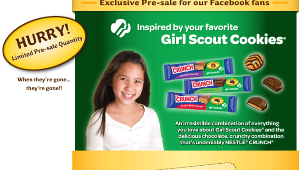Nestle Girl Scout Cookie Candy Bar