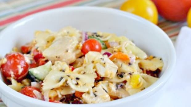 Italian Pasta Salad - An Easy Weeknight Dinner