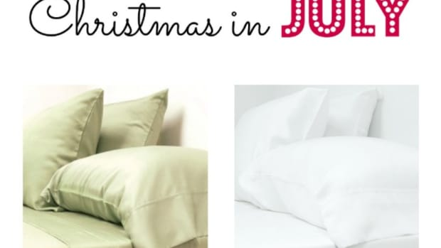 Christmas in July Bamboo Sheets Giveaway!