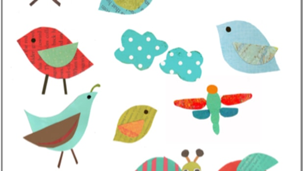 Bird printable for kids