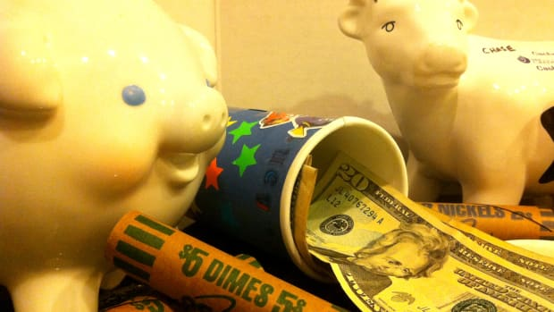 Three Kid Piggy Banks