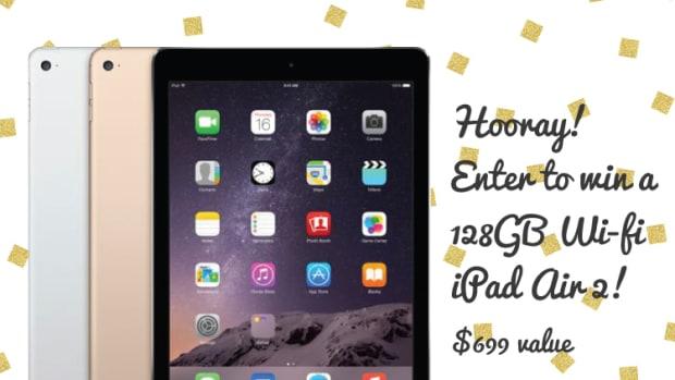 WIN a 128GB iPad Air 2!
