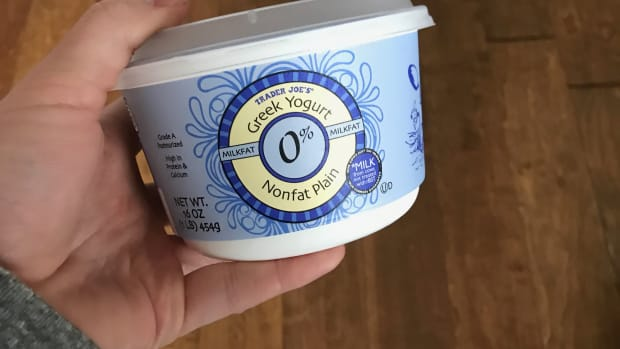 fat free greek yogurt from trader joe's