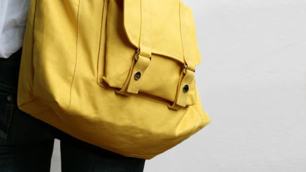 lucky cann carson bag yellow