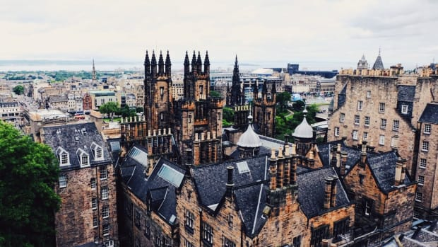 Edinburgh's magnificent skyline (Photo: Michelle Rae Uy)