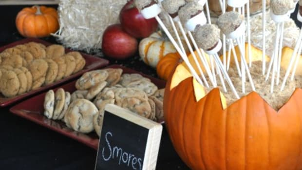 DIY Chalkboard Menu Plaques Dessert Buffet