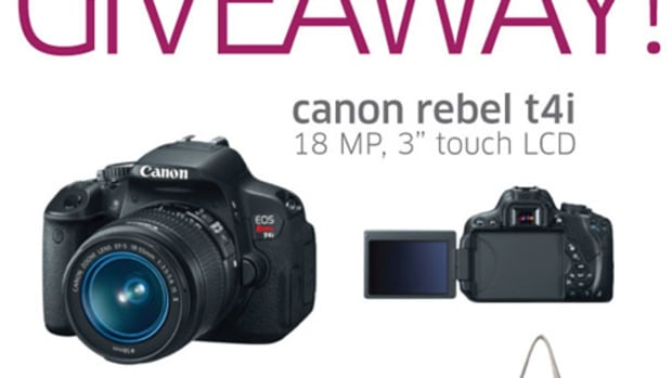 Enter to win a Canon Camera and Ephiphane bag!