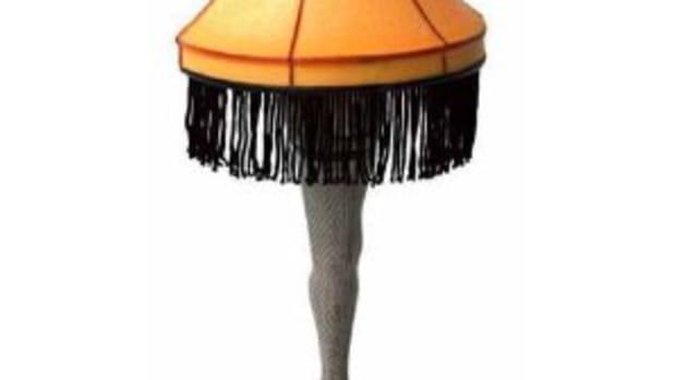 A Christmas Story Leg Lamp