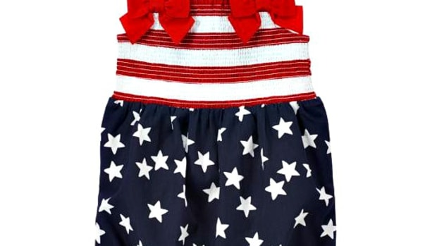 Star Spangled one piece fourth of july