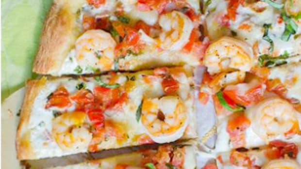 shrimp caprese