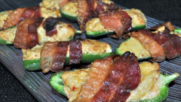 Bacon Wrapped Jalapeno Pepper Bites