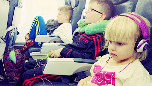 traveling with my kids abroad
