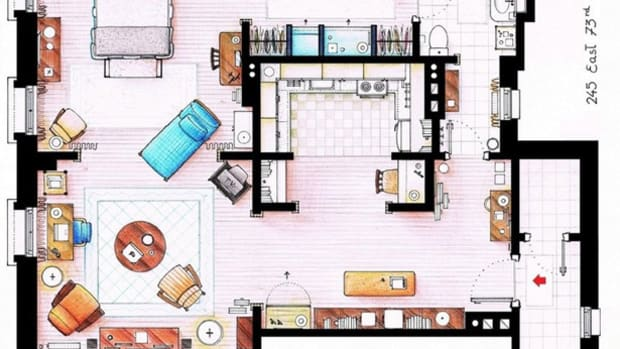 Carrie Bradshaw Apartment Layout