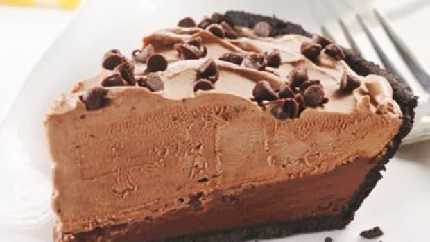 chocolat mudslide frozen pie