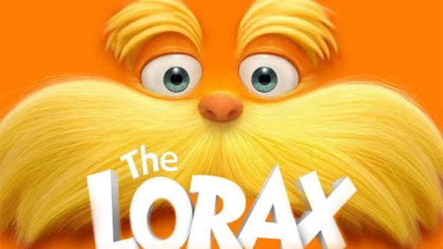 Lorax movie poster
