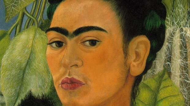 Frida-Kahlo-Self-Portrait-with-Monkey-1938