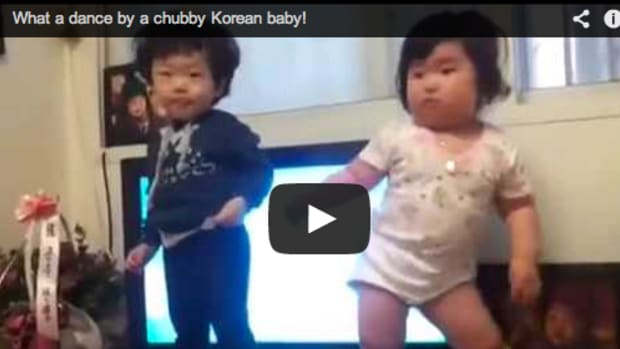 Chubby Baby Techno Dance  - Hilarious!