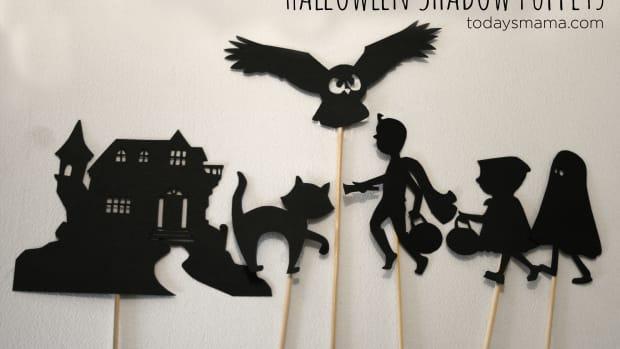 Halloween Shadow Puppets on TodaysMama.com