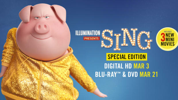 SING Special Edition Movie Poster