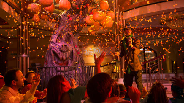 Halloween on the High Seas aboard the Disney Cruise ships (Courtesy Disney Cruise Line)