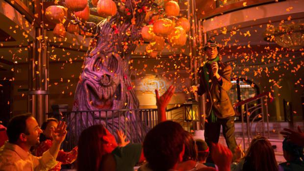 Halloween on the High Seas aboard the Disney Cruise ships (Courtesy Disney Cruise Line)