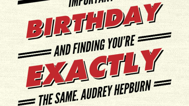 Birthday Quotes - Audrey Hepburn - TodaysMama.com