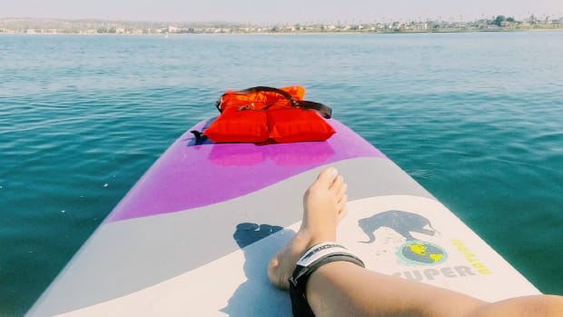 Paddle Boarding in Mission Bay (Photo: Michelle Rae Uy)