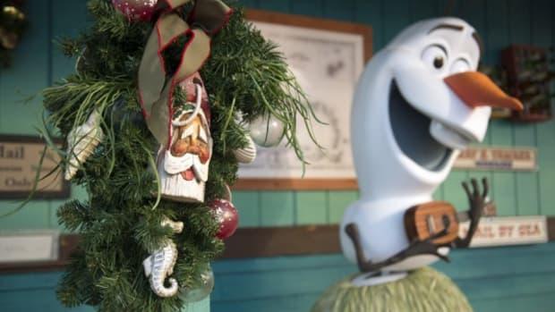 Olaf at Disney's Castaway Cay Island
