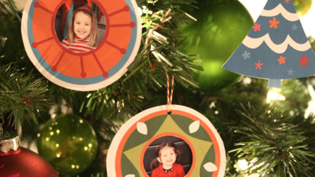 printable christmas tree paper ornaments