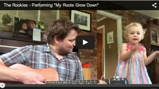 Daddy Daughter Cover of My Roots Go Down - ADORABLE