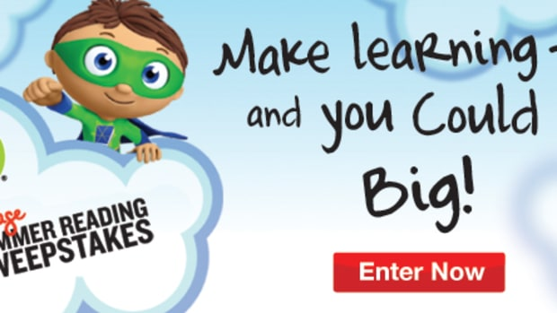 iVillage PBSKids Summer Reading Challenge