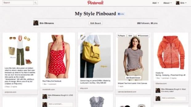 Pinterest Style Board