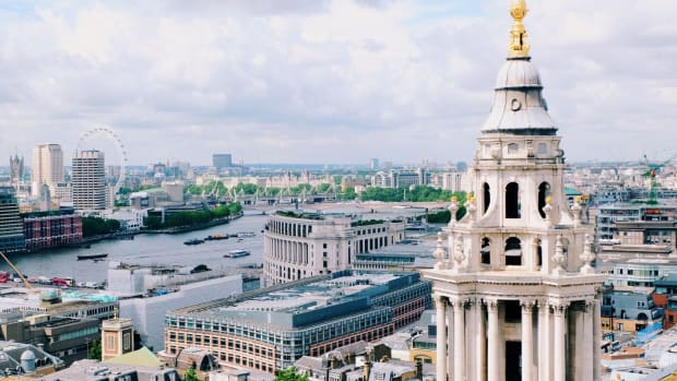London from St. Paul's Cathedral (Photo: Michelle Uy)