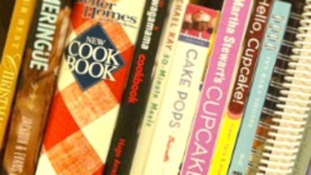 Best Cookbooks on Amy's Shelf