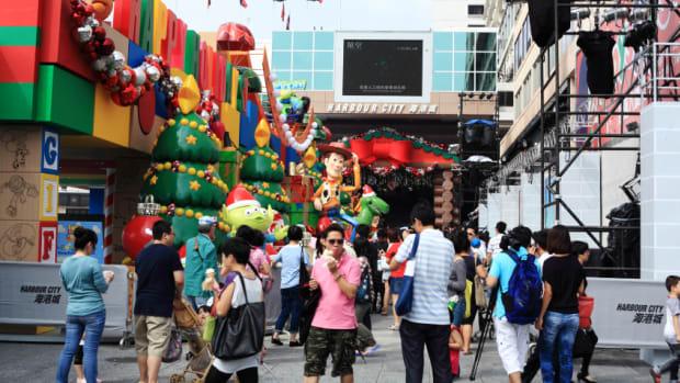 china at christmas