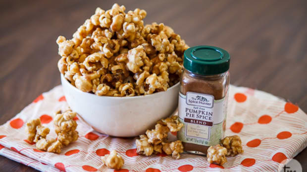Pumpkin Caramel Popcorn
