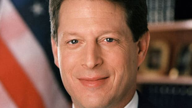 Presidential Candidate Al Gore