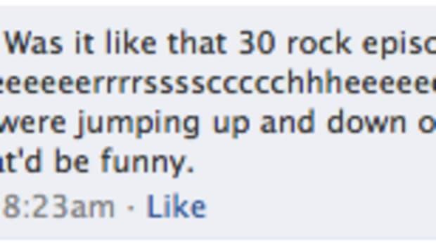 oprah facebook status update