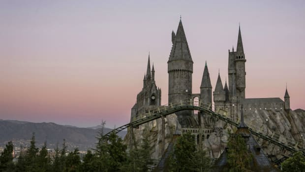Hogwarts Castle and the Flight of the Hippogriff are among Universal Studios Hollywood's newest attractions (Courtesy Universal Studios Hollywood)