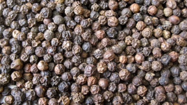 Black Peppercorns from San Francisco Herb Company